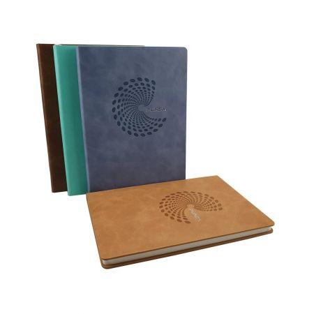 圓形烙印款精裝筆記本
