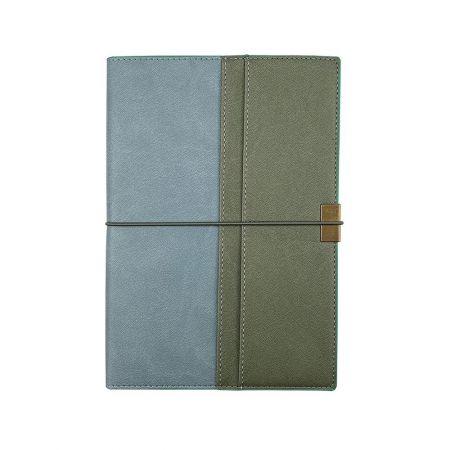 雙色層袋精裝筆記本