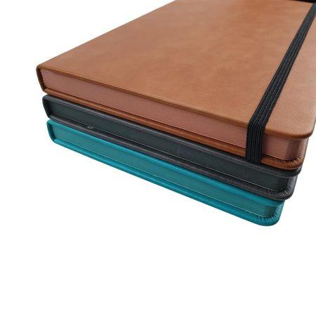 318-1款刷邊精裝筆記本