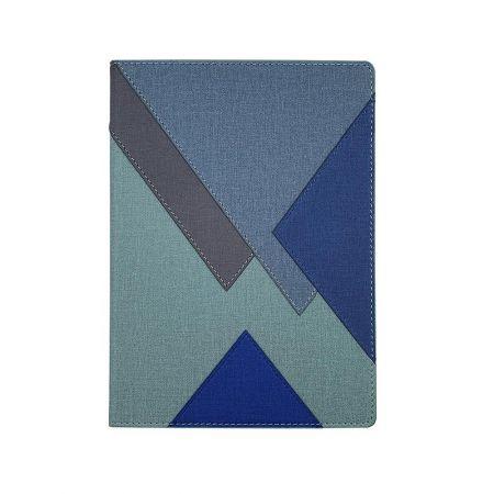 319-1款幾何搭接精裝筆記本
