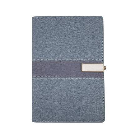 磁気バックル付きハードカバーノートブック