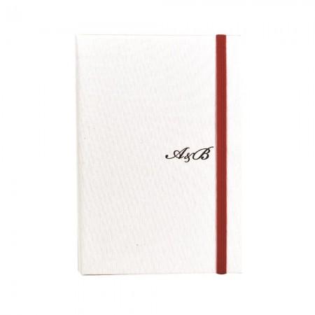 Niestandardowy notatnik z pamiątkami ślubnymi