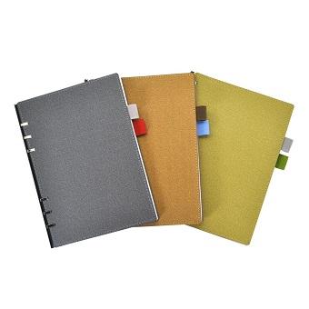 Pundy Cuaderno de la carpeta de bricolaje