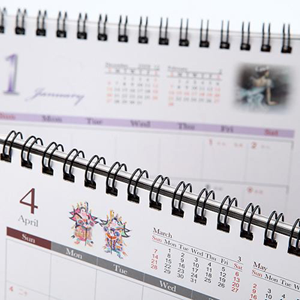 Bloc-notes / calendrier de bureau