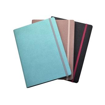 ハードカバーのノートブック印刷