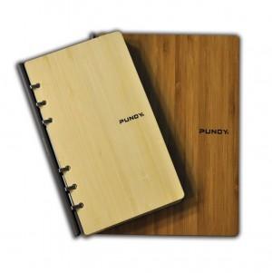Klassisches Notizbuch aus Bambus-Recycling