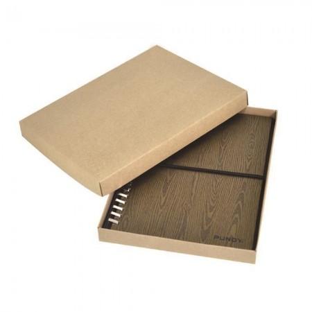 上下カバー付きクラフト紙箱