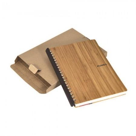 シンプルなクラフト紙箱