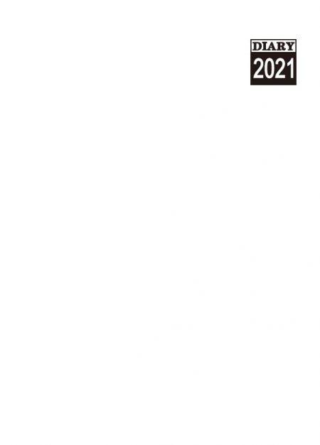 内側のページ形式25K-英語の前年/月間カレンダー共有バージョン