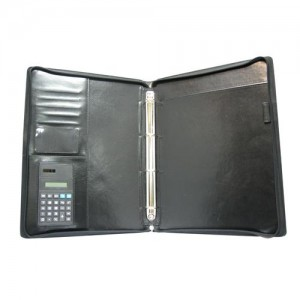 Leather Portfolio / File Clip
