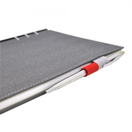 226款雙色筆插款抽取式筆記本