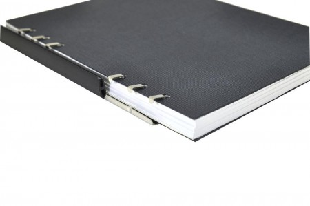 丹宁布纹系列抽取式笔记本