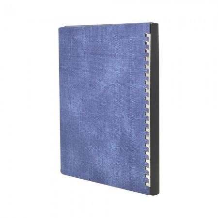 227款水洗半圓釦款抽取式筆記本