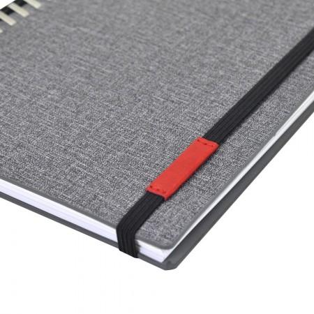 230款鬆緊帶皮標款抽取式筆記本