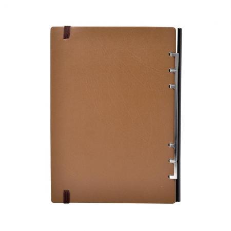 252款鬆緊帶軟木抽取式筆記本