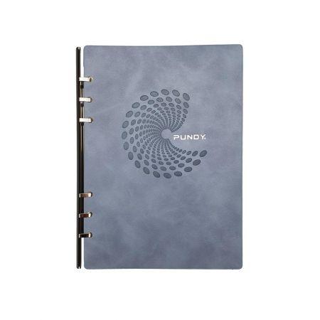 圓形烙印款抽取式筆記本