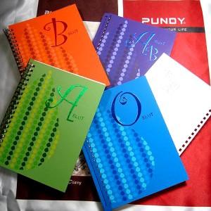 DIY Binder Recycling-Leder-Tagebuch