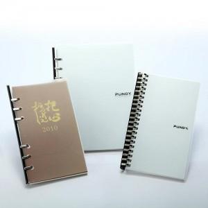 पीपी बोर्ड 6 रिंग नोटबुक डायरी