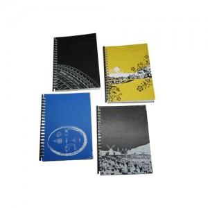 Siebdruck-Notizbuch