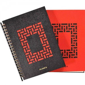 Recycle Leather DIY Binder Notebook