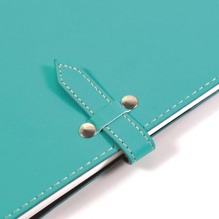 彩色插扣款抽取式筆記本