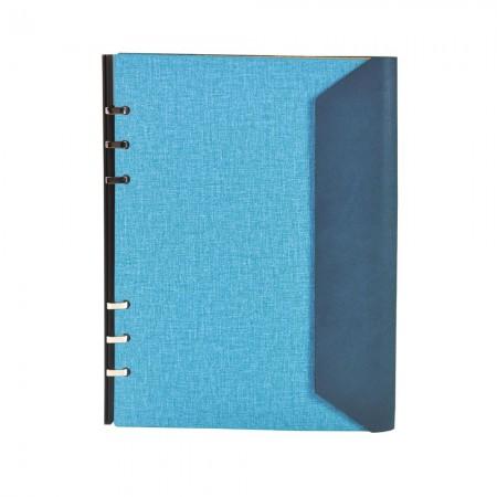 Dreifach gefaltetes DIY Binder-Notizbuch