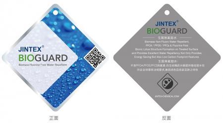 Repelente de agua sin flúor de biomasa JINTEX BIOGUARD