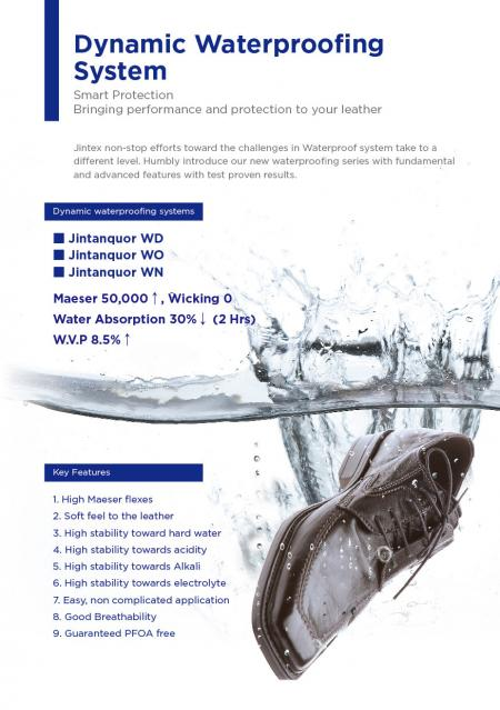 Dynamic Water Proofing System