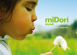 miDori® 바이오매스 제품
