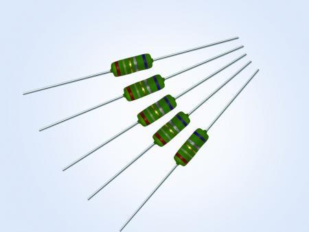 抗突波绕线可熔断插件电阻1W 1ohm 5%
