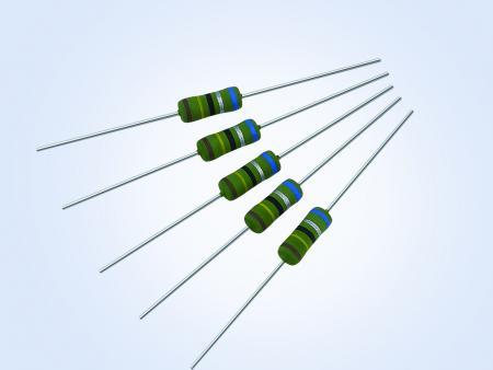 抗突波绕线插件电阻1W 0.1ohm 5%