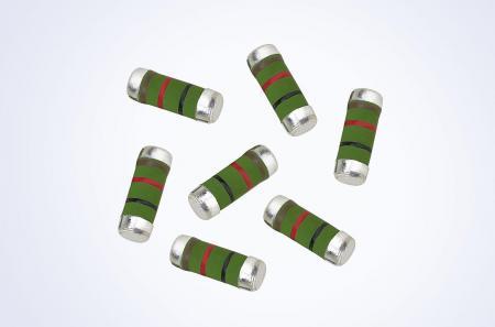 車両グレードのサージ防止巻線MELF抵抗器1W0.1オーム5%