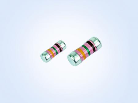 車両グレードの安定化フィルムパワー      MELF resistor 0.4W 43.2オーム0.5%25PPM