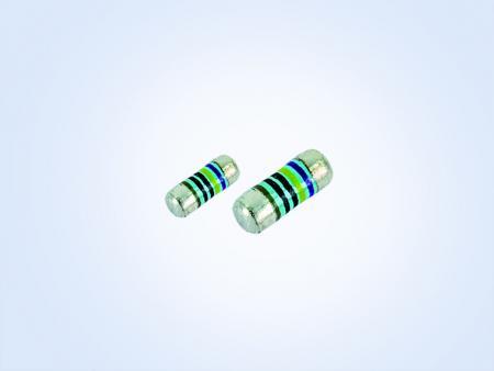 金属膜MELF精密抵抗器、車両グレード0.25W 43.2オーム0.1%15PPM