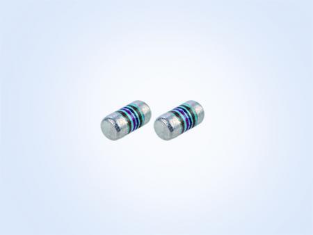 金属フィルム      MELF resistor 0.2W 49.9オーム1%25PPM