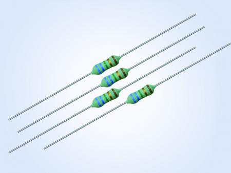 Professional Metal Film Axial Resistor 0.25W 43.2ohm 0.1% 25PPM