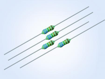 特殊金属膜插件电阻0.25W 43.2ohm 0.1% 25PPM