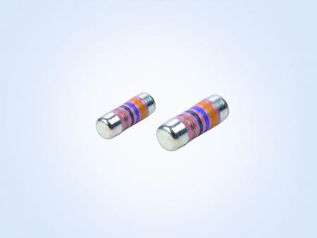 安定化されたフィルムパワー      MELF resistor 0.4W 43.2オーム0.5%25PPM