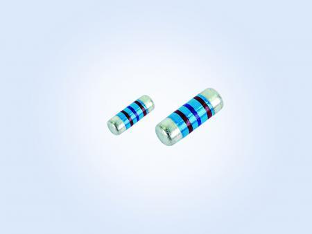 Stabilized Metal Film MELF Resistor  0.16W 43.2ohm 1% 25PPM