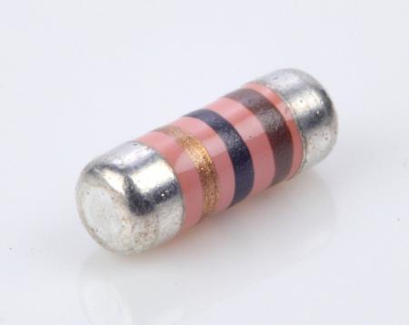 耐サージ性 MELF resistor 0.25W 1オーム1%