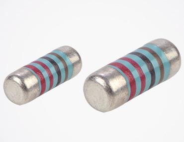 金属フィルム MELF resistor - んん