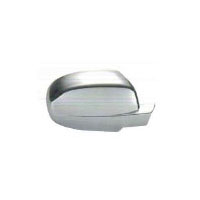 Chevrolet Avalanche Plastic Chrome Mirror Covers - 07-13 CHEVROLET AVALANCHE
