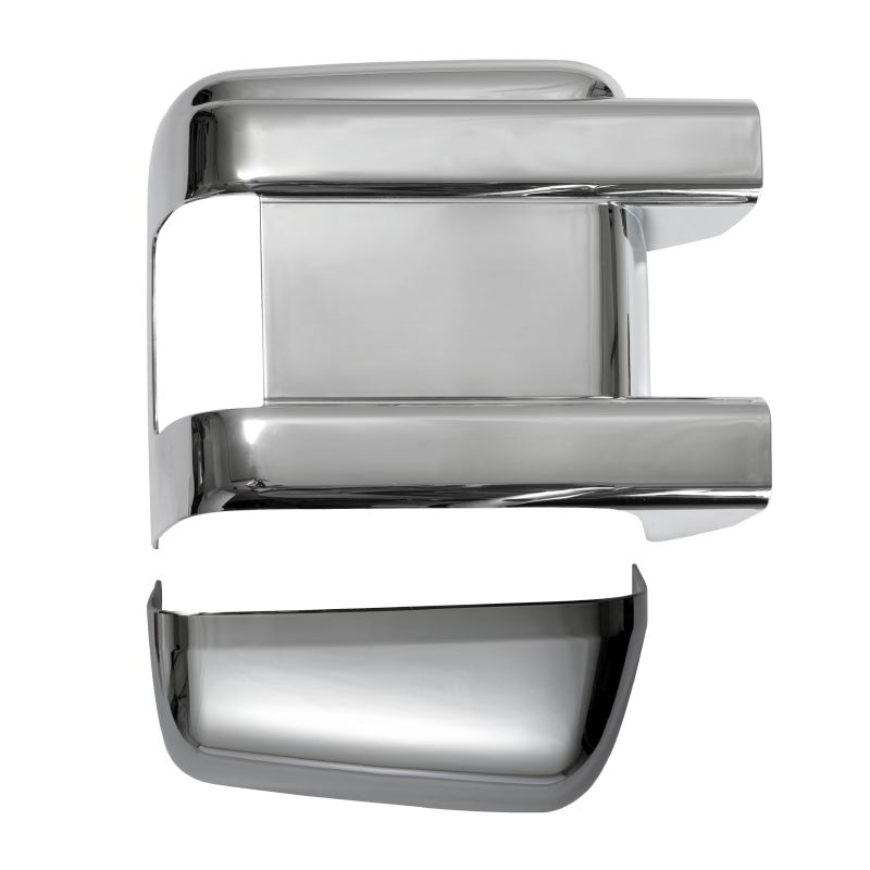 Ford Superduty  Plastic Chrome Mirror Covers - 08-12 FORD SUPERDUTY