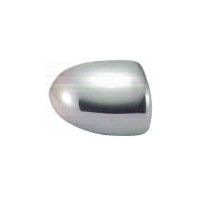 Jeep Compass Plastic Chrome Mirror Covers - 07-14 JEEP COMPASS