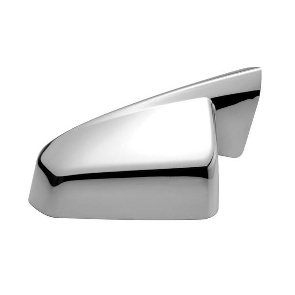 Dodge Avenger Plastic Chrome Mirror Covers - 08-14 DODGE AVENGER