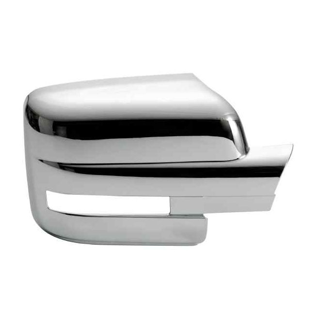 Ford F150 Plastic Chrome Mirror Covers - 09-14 FORD F150 W/ TURN SIGNAL
