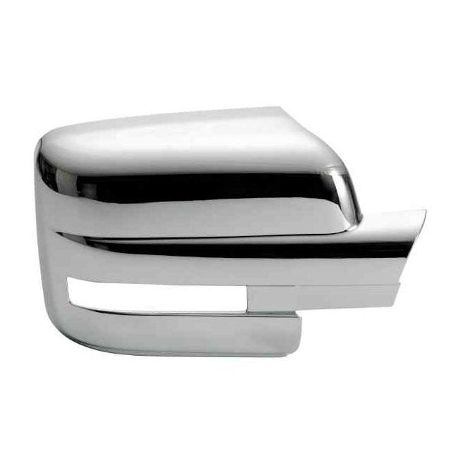 Ford F150 Plastic Chrome Mirror Covers - 09-14 FORD F150 W/ TURN SIGNAL