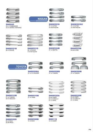 Plastic Chrome Plated Auto Accessories E-Catalog