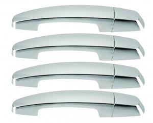 Chevrolet Impala Plastic Chrome Door Handle Covers - 14-16 CHEVROLET IMPALA