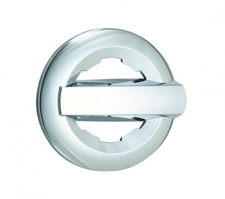 Chevrolet Silverado Chrome Gas Door Cover - 14-15 SILVERADO 1500 15 SILVERADO 2500/3500